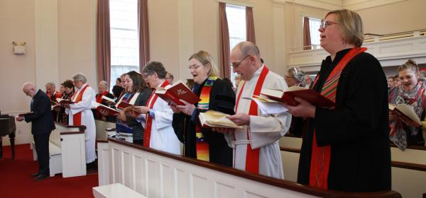 Installation Clergy